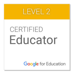 FSC 2010 Google Educator Level 2 (Prepare for official Google Certification) - Fluirse Teacher Summer Courses 2020